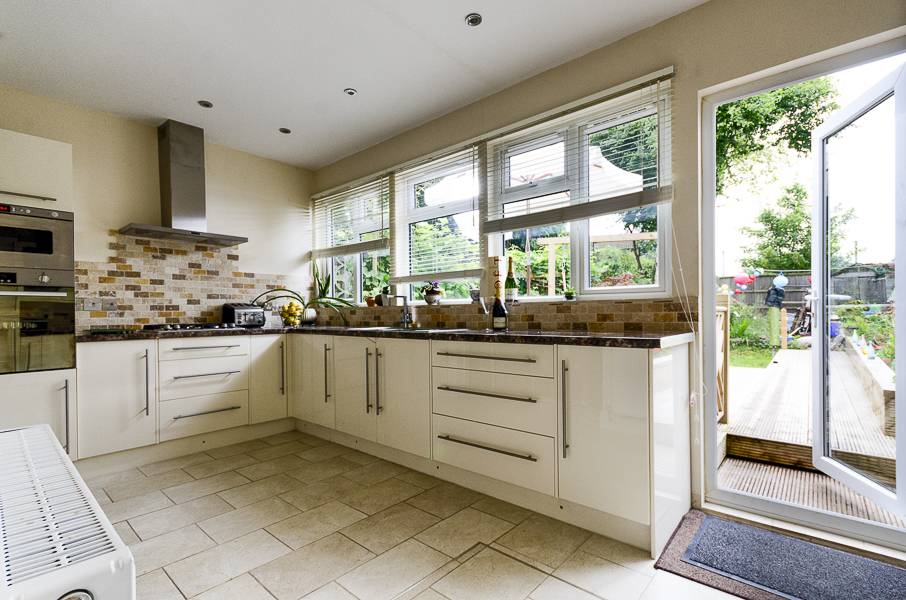 London neutral kitchen